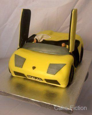 Lamborghini Murcielago Groom's Cake
