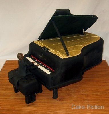 Tmx 1310180630261 SteinwayGrandPianoGroomsCake Long Valley, New Jersey wedding cake