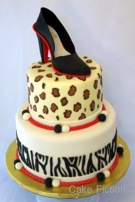 Tmx 1310181455939 LouboutinShoecake Long Valley, New Jersey wedding cake