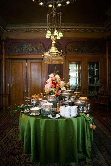 Rhodes hall buffet