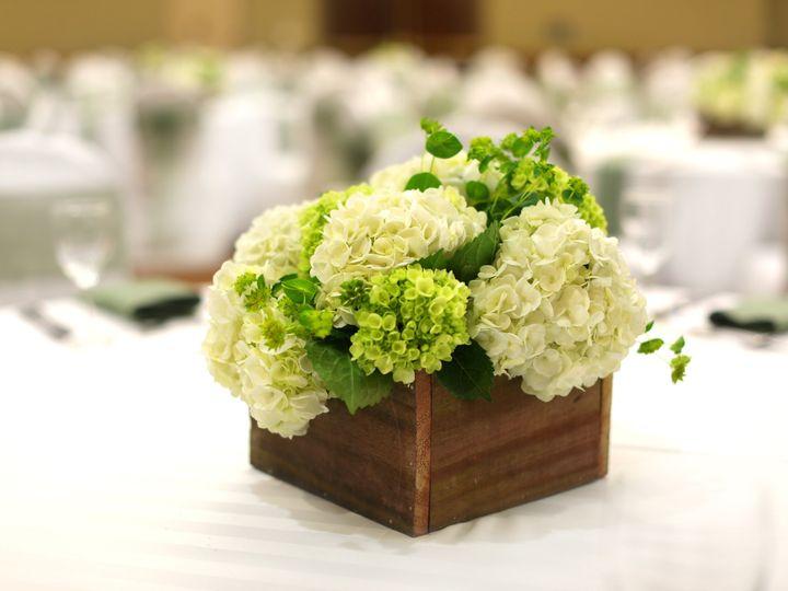 Tmx 2018 Hydrangia Rustic Centerpiece 51 89847 Williamsburg, VA wedding venue