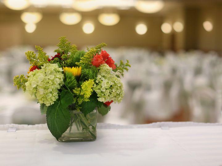 Tmx 2018 Spring Flowers In Glass Cube 51 89847 Williamsburg, VA wedding venue