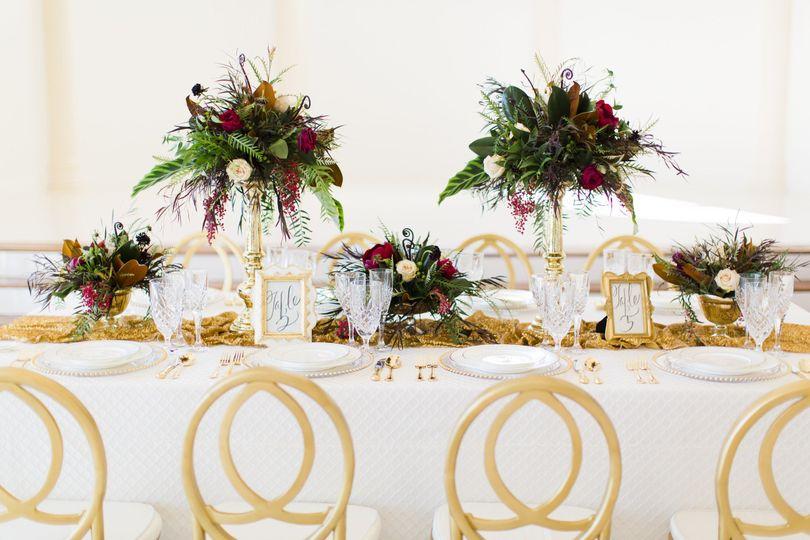 tablescape florals 1