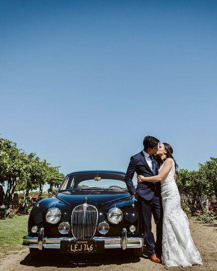 Jaguar Wedding Napa