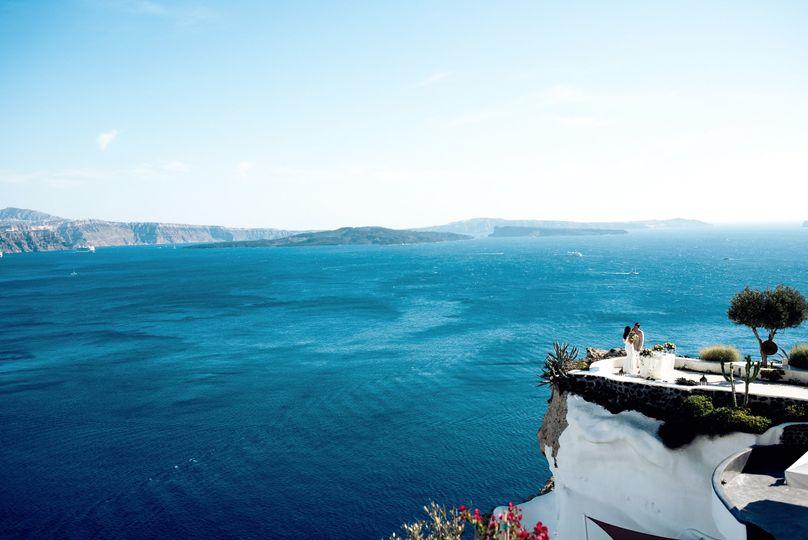 Destination Wedding Photography   Santorini, Greece