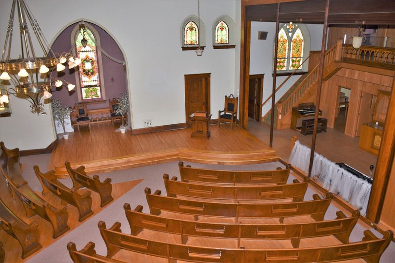 Top view of chapel