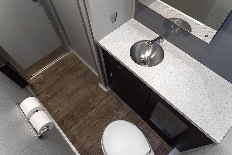 Interior: CP-3 Restroom
