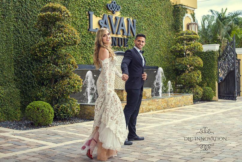 Lavan's grand entrance