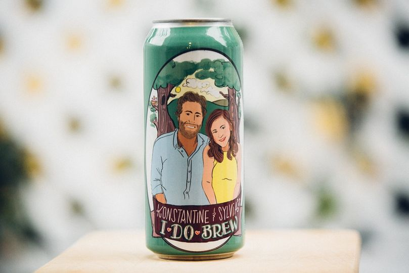 Custom Wedding Beer