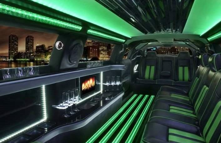 Interior of hulk