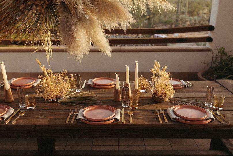 Pampas Grass Dinner