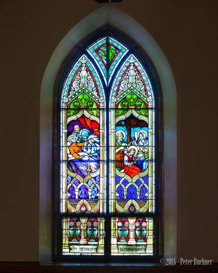 Beautiful original stained glass