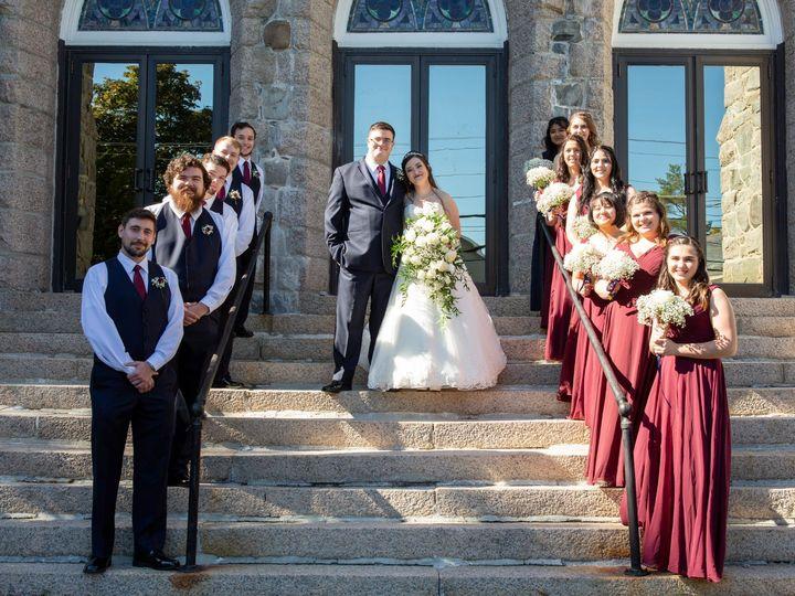 Tmx Group Photo On Stairs 51 1023947 157551114439446 Orono, ME wedding venue