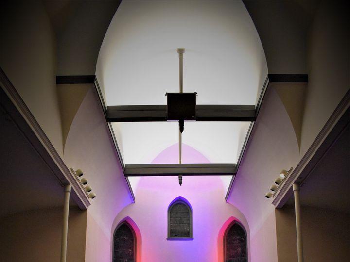 Tmx Lighting Of Chapel 2 51 1023947 157551085538153 Orono, ME wedding venue