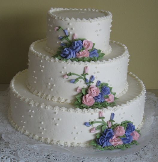 pictures of blue and pink wedding cakes gruttadauria bakery wedding cake rochester ny 18392