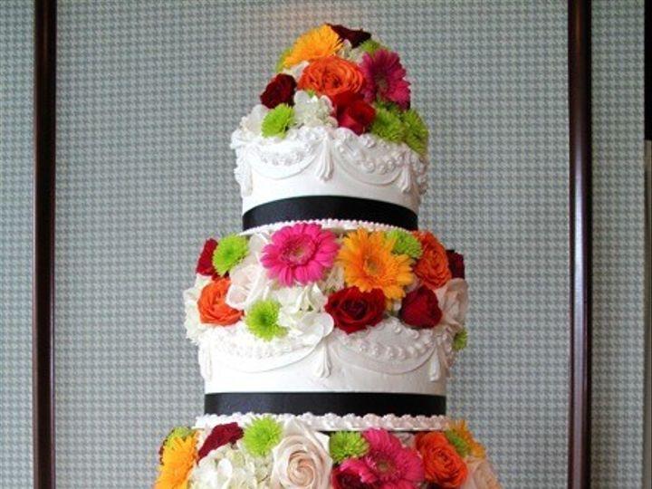 Tmx 1389903624578 Fresh Flowered Cak Rochester wedding cake