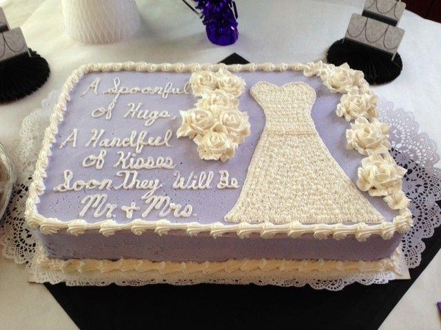 Tmx 1389904681381 Bridal Shower Cake Gow Rochester wedding cake