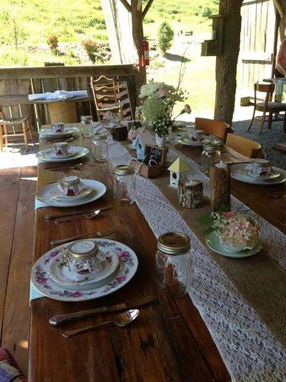 wedn table w