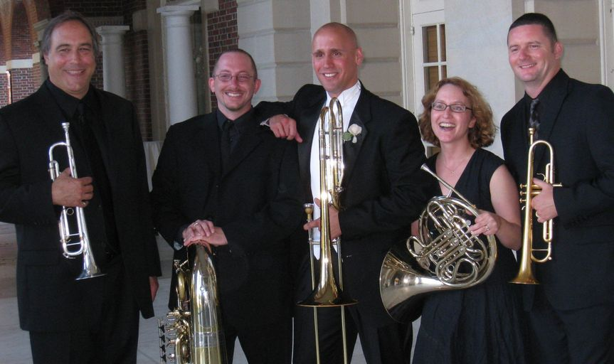 dominant 5 brass quintet relaxed