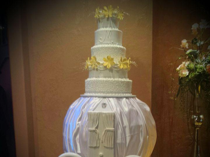 Tmx 1438200387545 Cinderlla Carriage Cake Houston, TX wedding cake