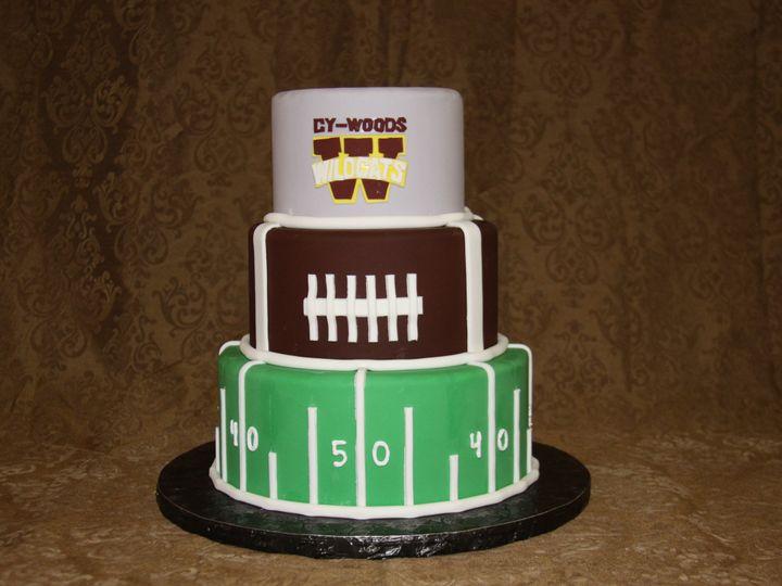Tmx 1438202093682 Football Sportsfan Houston, TX wedding cake