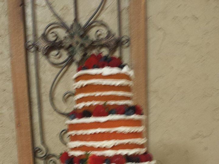 Tmx 1438202156033 Naked Cake With Fresh Fruit Houston, TX wedding cake
