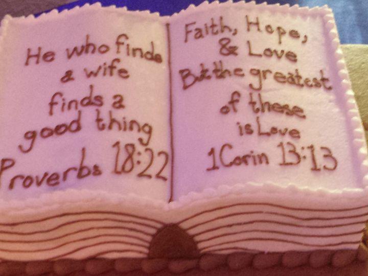 Tmx 1438202178572 Scripture Cake Houston, TX wedding cake