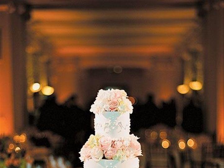 Tmx 1487279978586 Floral Seperated Cake Houston, TX wedding cake