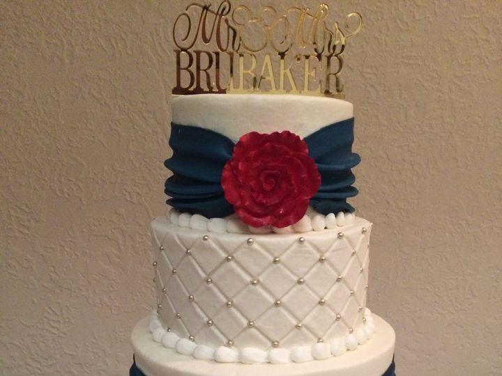 Tmx 1487280307669 Img26411 Houston, TX wedding cake