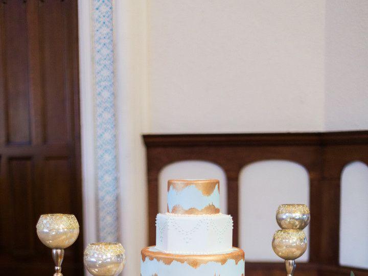 Tmx 1487280658816 Orangegoldmediterraneanweddingjessicapledgerphotog Houston, TX wedding cake