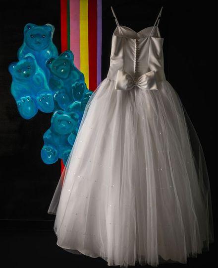 Photo of the wedding dress