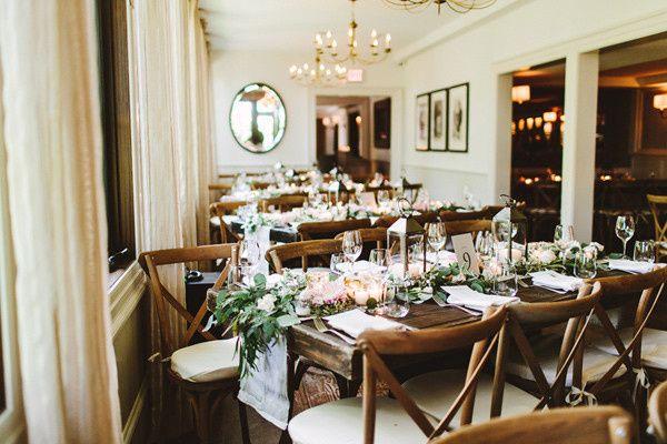 Main Dining Room Wedding Set-Up