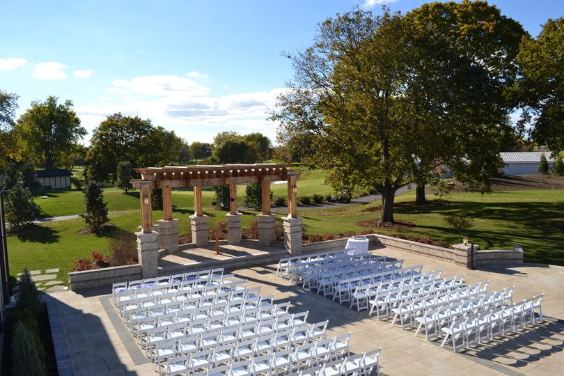 Wedding venue set-up