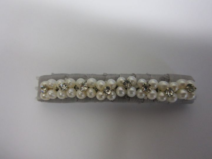 Tmx 1389639958907 Pearland Rhinestone Hairbarett Elmsford wedding jewelry