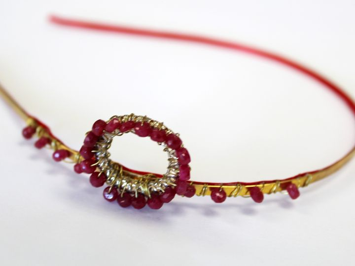 Tmx 1389640114725 Faceted Ruby Headband Closeu Elmsford wedding jewelry