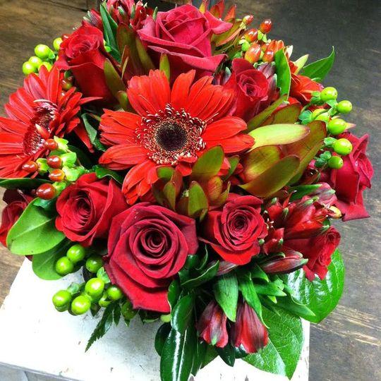 Red arrangements