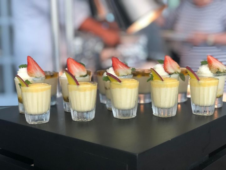 Pineaple & Strawberry Desserts