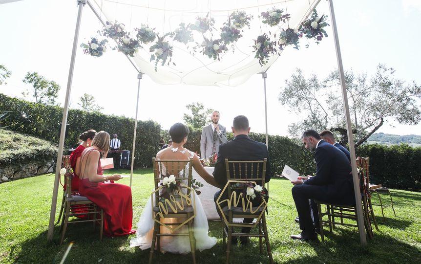 Fall symbolic ceremony