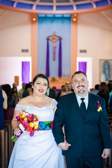Guadalupe Church ceremony