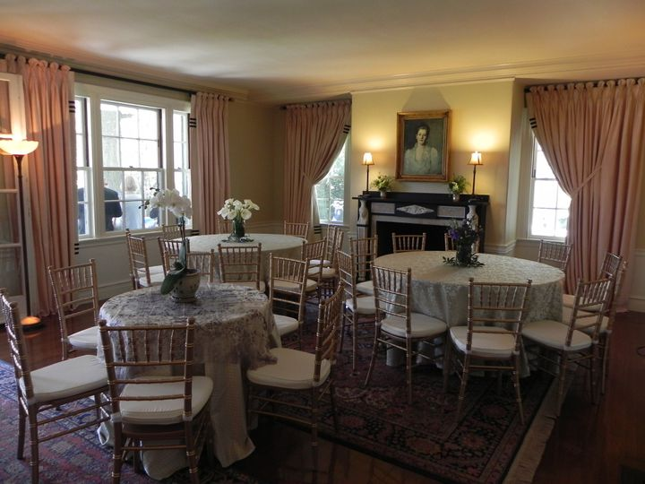 Small Party Seating inside