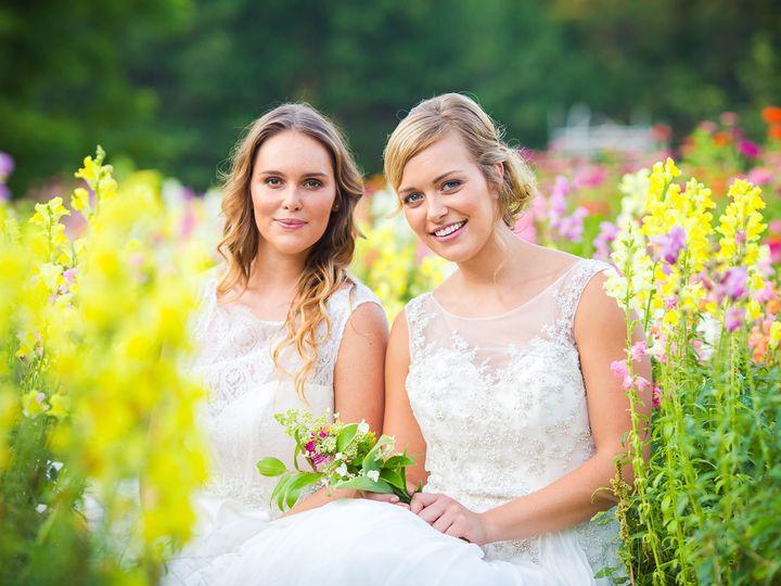 Tmx 1453438352929 Red Barn Gardens Styled Shoot   For Web046 Burlington, VT wedding beauty