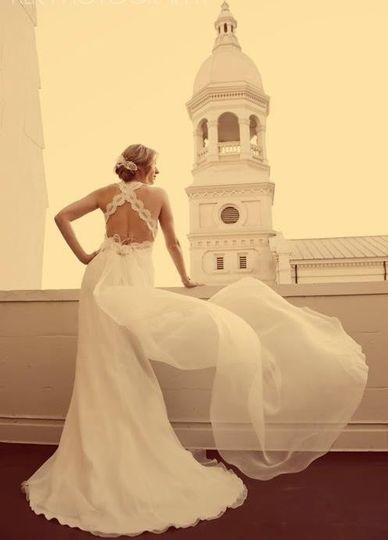 bridal photo lacrop