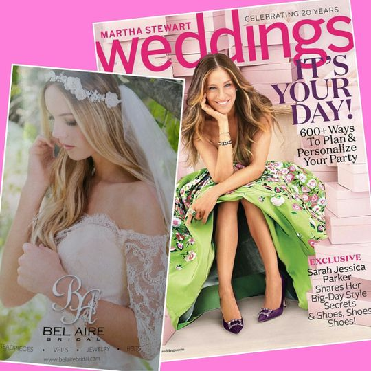belaire bridal shoot in brides mag 2