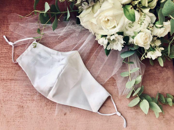 White silk CassB mask