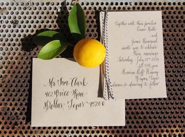 Tmx 1425019744093 The Knot Wedding Invitation Dallas Calligraphy Dallas wedding invitation