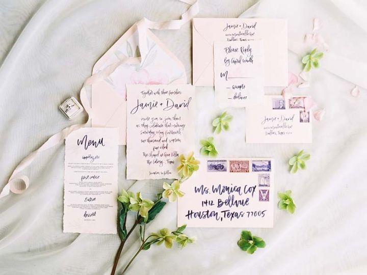 Tmx 1485033378665 Keri Ellen Styled Shoot 1 Dallas wedding invitation