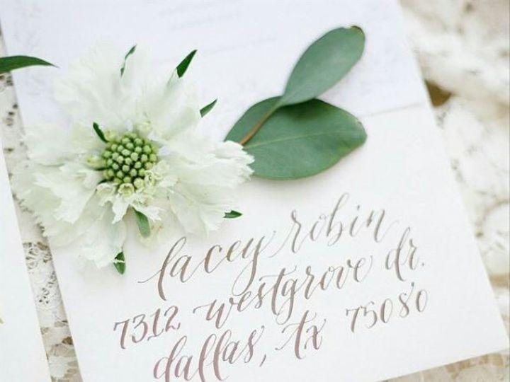 Tmx 1485034601850 Envelope 4 Dallas wedding invitation