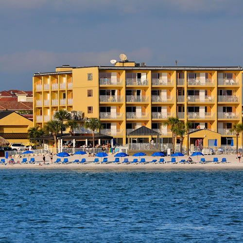 Exterior view of Quality Hotel Clearwater Beach Resort.