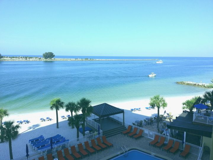 Outdoor view from Quality Hotel Clearwater Beach Resort.