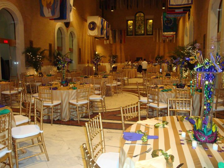 Tmx 1434483956574 Gold Blue And Green Tablescape Woburn, MA wedding catering